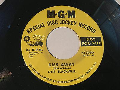 Kiss Away Otis Blackwell